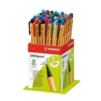 Fix Greenpoint, mix barev, 0,8mm, 40ks/displej, STABILO