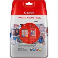 Cartridge Canon CLI-571, CMYK, 0386C006, originál