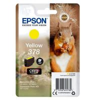 Cartridge Epson C13T37844010, yellow, 378, originál