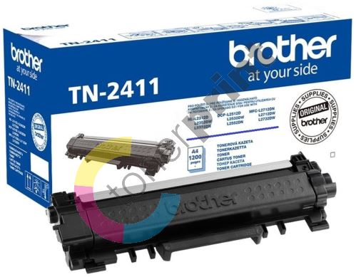 Toner Brother TN-2411, black, originál 1