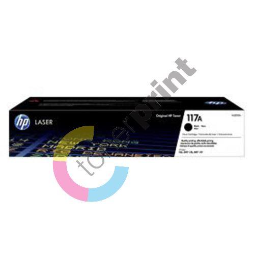 Toner HP W2070A, black, 117A, originál 1