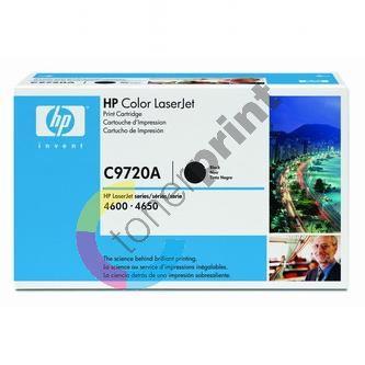 Toner HP C9720A černá originál 1
