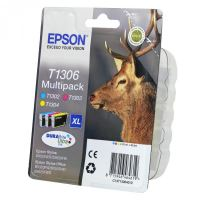 Cartridge Epson C13T13064012, CMY, originál