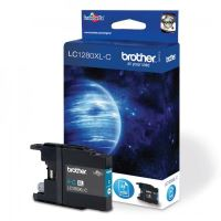 Cartridge Brother LC-1280XLC, cyan, HC, originál