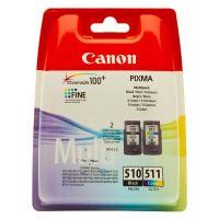 Cartridge Canon PG-510/CL-511, černá + barevná, 2970B010, originál