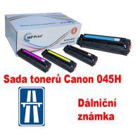 Sada tonerů Canon 045H, CMYK, MP print + dálniční známka