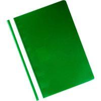 Rychlovazač z PVC přední strana průhledná, tenká, zadní strana tmavě zelená