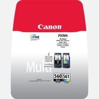 Cartridge Canon PG-560/CL-561, multipack, 3713C006, originál
