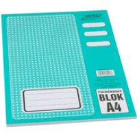 Poznámkový blok Bobo A4, 50 listů, čtvereček 1