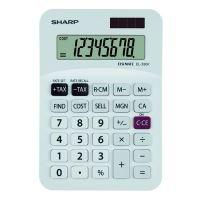 Kalkulačka Sharp EL330FB, bílá, stolní, osmimístná