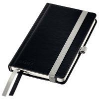 Zápisník Leitz STYLE A6, tvrdé desky, čtverečkovaný, saténově černý