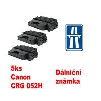 5ks kompatibilní toner Canon 052H MP print + dálniční známka