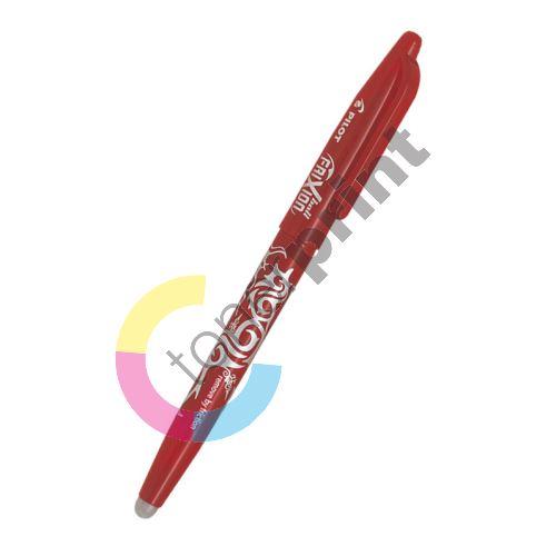 Kuličkové pero Pilot Frixion Ball, gumovatelné, červené, 0,7 mm 1
