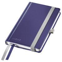 Zápisník Leitz STYLE A6, tvrdé desky, čtverečkovaný, titanově modrý 2