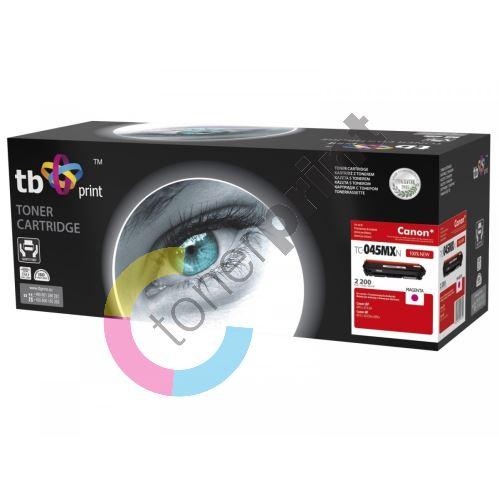 TB toner kompatibilní s Canon 045H, TC-045MXN, Magenta, 2200, new 1