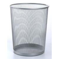 Odpadkový koš drátěný, stříbrná, Victoria
