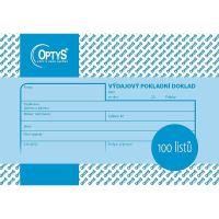 Výdajový doklad A6, 100 listů, OP1037 1