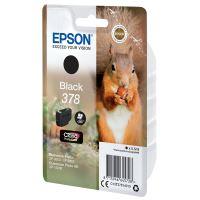 Cartridge Epson C13T37814010, black, 378, originál