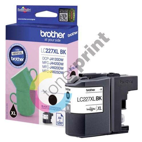 Cartridge Brother LC-227XLBK, black, originál 1