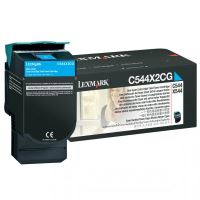 Toner Lexmark C544/X544/C546/X546, C544X2CG, originál