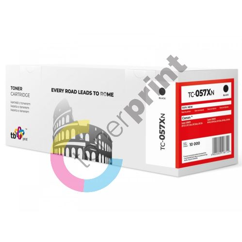 Toner Canon CRG 057H, 3010C002, black, TB, MP print 1