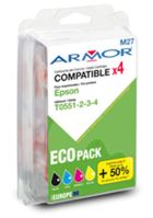 Cartridge Epson C13T055640, CMYK, Armor