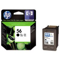 Cartridge HP C6656AE, black, No. 56, originál