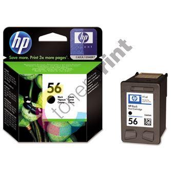 Cartridge HP C6656AE, black, No. 56, originál