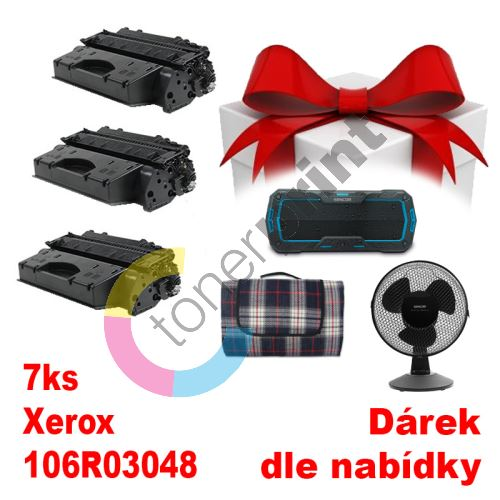 5ks kompatibilní toner Xerox 106R03048 MP print + dárek dle výběru 1