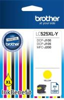 Cartridge Brother LC-525XLY, yellow, originál