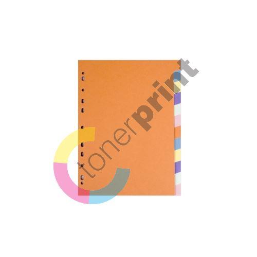 Rozdružovač A4 barevný karton Classic 1-10 1
