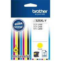 Cartridge Brother LC-525XLY, yellow, originál