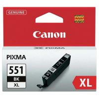 Cartridge Canon CLI-551Bk XL, black, 6443B001, originál