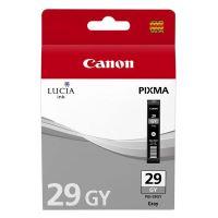 Cartridge Canon PGI-29GY, 4871B001, grey, originál