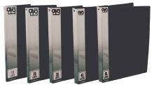 Kniha katalogová A4 10 kapes, neprůhledná, černá 1