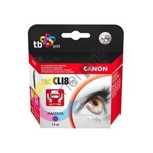 Cartridge Canon CLI-8M + čip TB 1