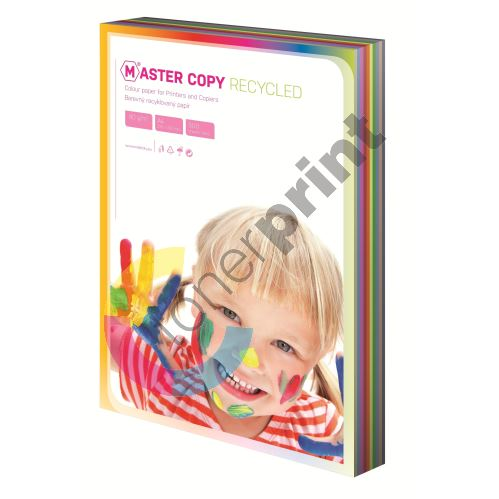 Barevný papír Master Copy EKO duha, 10 barev A4, 500 listů 1