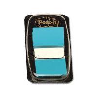 Záložka Post-It 25,4mm x 43,2mm 3M, 1bal/50ks jasně modrá