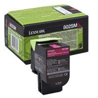 Toner Lexmark 80C2SM0, magenta, originál