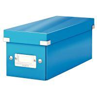 Archivační krabice na CD Leitz Click-N-Store WOW, modrá
