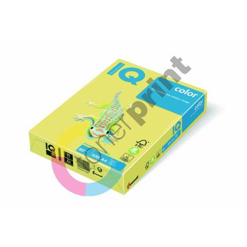 Barevný papír IQ ZG 34 A4 80g žlutá 1bal/500ks 1