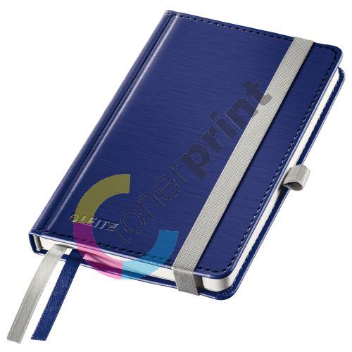 Zápisník Leitz STYLE A6, tvrdé desky, linkovaný, titanově modrý 1