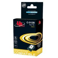 Cartridge Canon PG-512BK, black, TB, UPrint