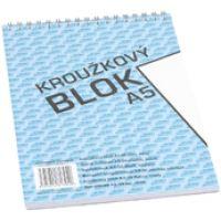 Bobo kroužkový blok A5, horní spirála 50 listů, čistý 4