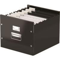 Archivační krabice na závěsné desky Leitz Click-N-Store, černá 2
