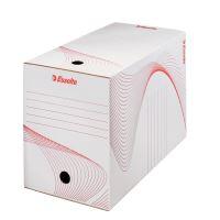 Archivační krabice Esselte 20 cm, bílá