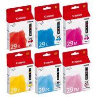 Cartridge Canon PGI-29, 4873B005, CMYRPCPM, originál