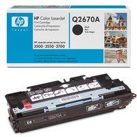 Toner HP Q2670A černá originál