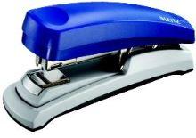 Sešívač Leitz 5523 s plochým sešíváním, modrý