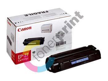 Toner Canon EP-27, black, originál 1